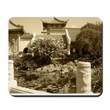 Water Garden in Sepiatone Mousepad