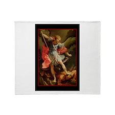St. Michael - Throw Blanket