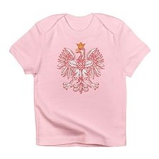 Polish Eagle Outlined In Red Infant T-Shirt