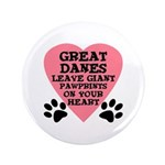 Great Dane Pawprints 3.5