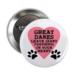 Great Dane Pawprints 2.25