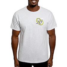 """Twentieth Anniversary"" Ash Grey T-Shirt"
