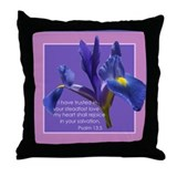 Psalm 13:5 Throw Pillow