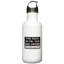 For Sale 50 Year Old B Water Bottle