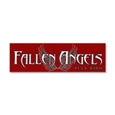 Fallen Angels Red Car Magnet