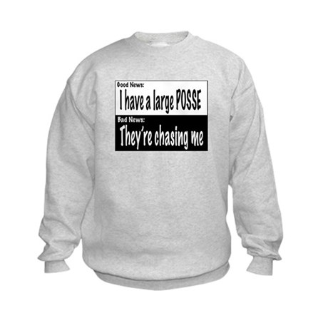 Large Posse Kids Sweatshirt