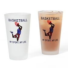 My Sport My Life Drinking Glass