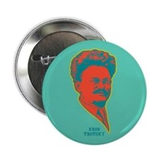 "Neon Trotsky 2.25"" Button"
