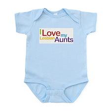 """""""I love my lesbian aunts"""" Infant Creeper"""