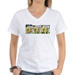 0384 - Fly like you've ... Women's V-Neck T-Shirt