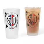 5.0 50 RWB Drinking Glass
