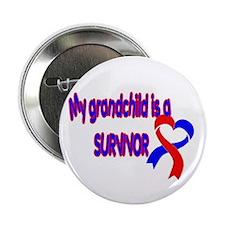 """grandchild_CHD_Survivor 2.25"""" Button (100 pack)"""