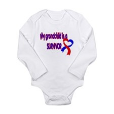 grandchild_CHD_Survivor Long Sleeve Infant Bodysui