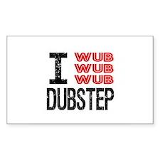 I Wub Wub Wub Dubstep Decal