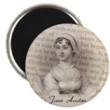 Jane Austen Gift Magnet
