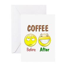 Coffee Humor Greeting Card