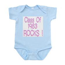 1983 Pink Infant Creeper
