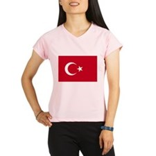 Turkish Flag Performance Dry T-Shirt