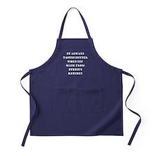 Bubbies Kitchen Apron (dark)