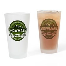 Snowmass Olive Drinking Glass