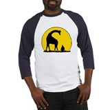 Cute Giraffe lover Baseball Jersey