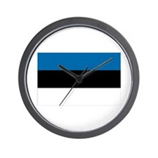 Flag of Estonia Wall Clock