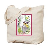 Cute Parrots Tote Bag