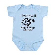 I Paintball Infant Bodysuit