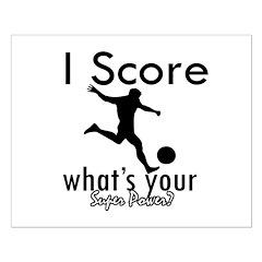 I Score Posters