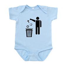 Religion Wastebin Infant Bodysuit