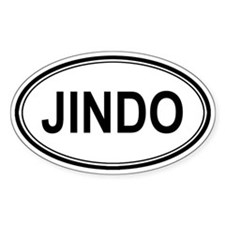 Jindo Euro Oval Decal