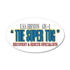 Super Tug ATS -1 22x14 Oval Wall Peel