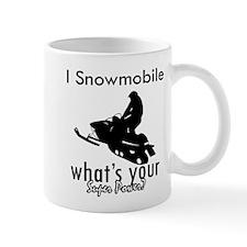 I Snowmobile Small Mug