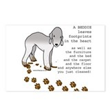Bedlington Terriers Postcards (Package of 8)