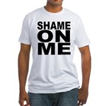 SHAME ON ME Fitted MEN'S T-Shirt