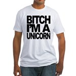 BITCH I'M A UNICORN Fitted MEN'S TEE