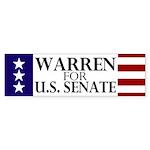 Warren for Senate Sticker (Bumper)