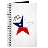 Made in Chile star flag Journal