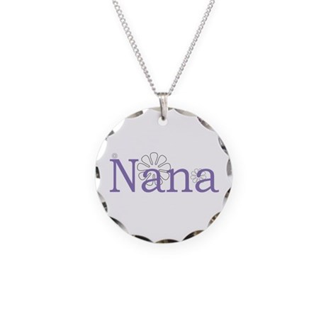 Nana Necklace Circle Charm