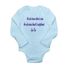 Wisdom Long Sleeve Infant Bodysuit