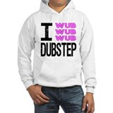 I Wub Dubstep Pink Sweats &#224; capuche