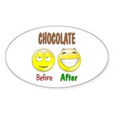 Chocolate Humor Decal