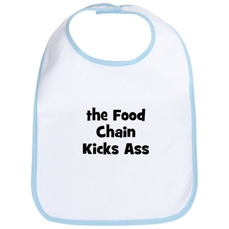the Food Chain Kicks Ass Bib