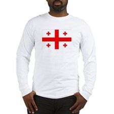 Georgian Flag Long Sleeve T-Shirt