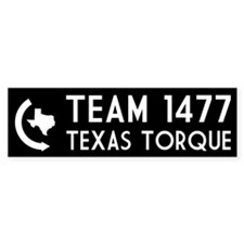 Texas Torque Bumper Sticker (10 pk)