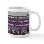 Zombie Moral Values Coffee Mug