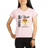 Uterine Cancer OneToughChick Performance Dry T-Shi