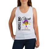Pancreatic Cancer OneToughChick Women's Tank Top