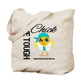 Ovarian Cancer OneToughChick Tote Bag