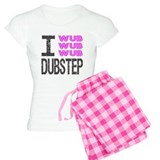 I Wub Dubstep Pink Grey Pyjamas